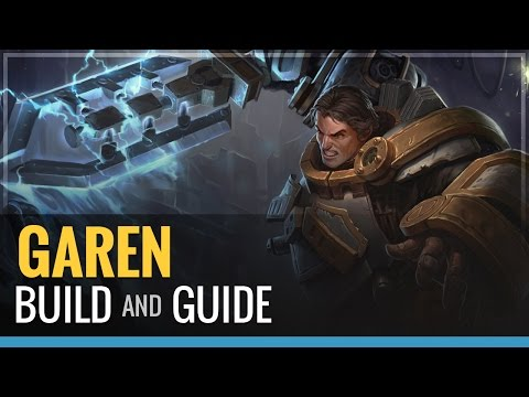 Guide - Justice is served with a sword from the sky. Garen build and guide. Items- -Black Cleaver -Sunfire Cape -Ninja Tabi -Randuins Omen -Spirit visage or Banshee's Veil (talked about) -Finish with...