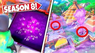 *NEW* THICK PURPLE FOG *RISING* REVEALING THE RETURNING CUBES HIDDEN LOCATION! SEASON 8 UPDATE!: BR