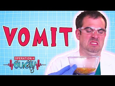 Operation Ouch -  Vomit | Biology Facts for Kids
