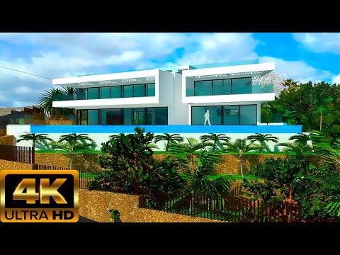 2 950 000€/Новая вилла в Бенидорме/Элитная недвижимость в Испании 2020/ВНЖ-Золотая виза-в подарок