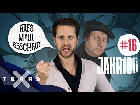 16. Jahrhundert – Im Dunkeln tappen oder warum wir heute noch wie Luther sprechen #jahr100 | Terra X