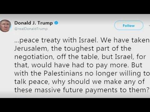ترامب وإيران… يد تساند وأخرى تذبح