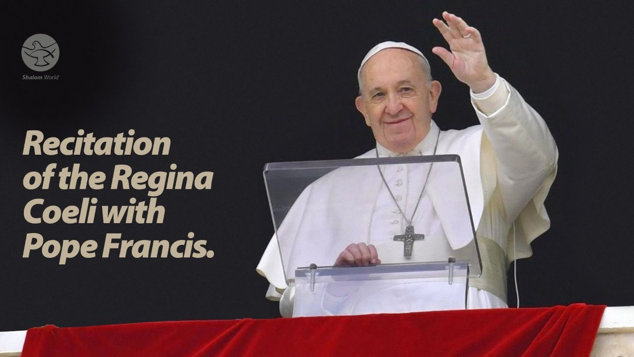 Recitation of the Regina Coeli with Pope Francis 10th May 2020 at Vatican