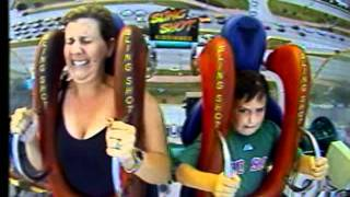 Video Funny Funny Sling Shot Ride Video Mom and 7 year old Son!!! MP3, 3GP, MP4, WEBM, AVI, FLV Juli 2018