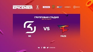 SK vs FaZe - EPICENTER 2017 - map3 - de_mirage [yXo, ceh9]