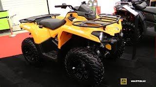9. 2019 Can Am Outlander 570 Recreational ATV - Walkaround - 2018 Drummondville ATV Show