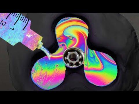 DIY RARE RAINBOW METAL FIDGET SPINNER! ( BISMUTH )