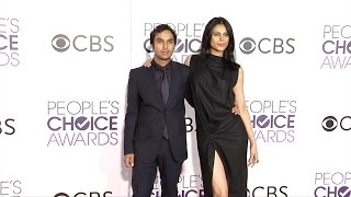 """Subscribe! http://bit.ly/mrSda2 RED CARPET BROLL: Kunal Nayyar and Neha Kapur arrives on the red carpet at the """"People's Choice Awards"""" held at The ..."""