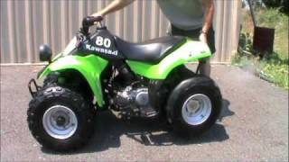 10. 06 Kawasaki KFX 80 For Sale