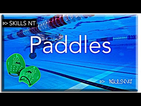 How to use paddles? your guideline on swimming faster with paddles