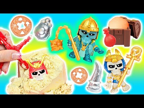 Treasure X! RIP, DIG, & FIZZ To Find BURIED Treasure! Doctor Squish