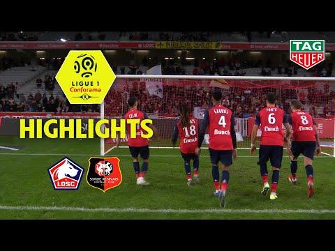 LOSC - Stade Rennais FC ( 1-0 ) - Highlights - (LOSC - SRFC) / 2019-20
