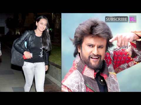 Why was Rajinikanth hesitant to romance Sonakshi S