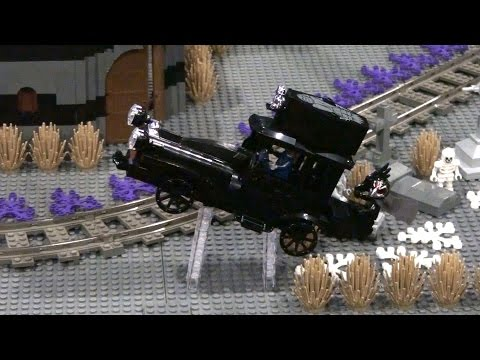 Vidéo LEGO Monster Fighters 9467 : Le Train Fantôme