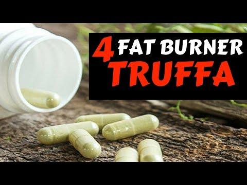 4 FAT BURNER TRUFFA : Garcinia Cambogia, Caffè Verde, Carnitina, CLA