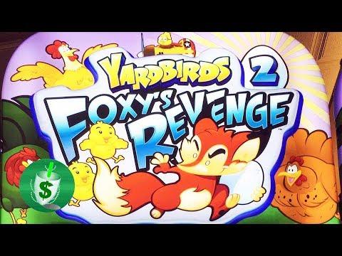 ++NEW Yardbirds 2 Foxy's Revenge slot machine, bonus