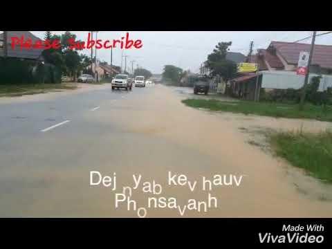 19/07/2018 lo nag loj heev ua rau xiengkhouang ntsib kev puas ntsuaj ntau yam kawg li (видео)
