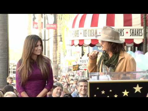 Penelope Cruz Walk of Fame Ceremony