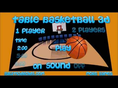 Video of Table Basketball 3D Pro