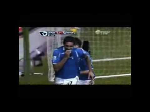 Tim Cahill en el Everton Fc