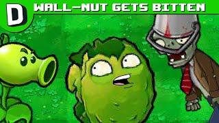 Plants vs. Zombies Wall-nut Gets Bitten