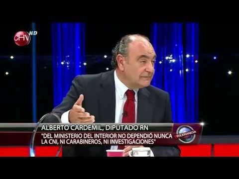 """Alberto Cardemil: """"No soy cómplice ni autor de ningún delito."""