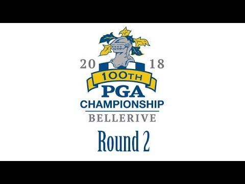 PGA Championship 2018 - Round 2 - 10/08/2018