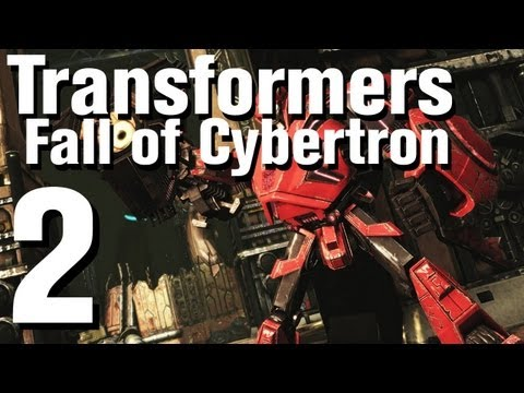 Transformers Fall of Cybertron Walkthrough Part 2 - Chapter 2 (видео)