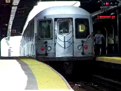 MustangFan424 - This is a video I took of a R42 L Train Departing Broadway Junction.