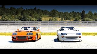 Nonton Forza Horizon 2: Fast and Furious - Brians Toyota SUPRA RZ vs. Pauls Toyota SUPRA | Drag Race Film Subtitle Indonesia Streaming Movie Download