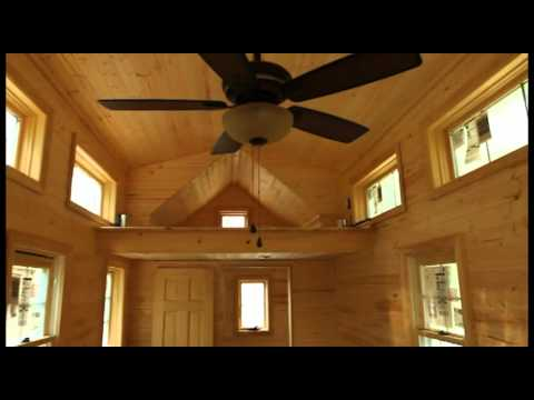 house builders - http://tinyhomebuilders.com This video is of our 'Tiny Living' design. The house is almost completed with just a little interior work remaining.