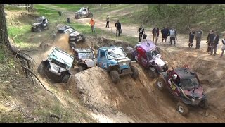 4x4 Off-Road vehicles in Sand pit   ORO 2016