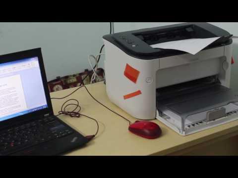 Review tốc độ in ấn máy in canon lbp 6230dn và hướng dẫn in đảo mặt