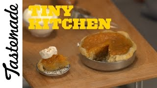 Tiny Pumpkin Pie   Tiny Kitchen by Tastemade