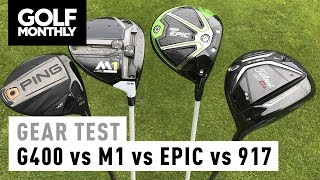 ► Watch our head-to-head test of the biggest drivers of 2017, as Golf Monthly Digital Editor Neil Tappin hits the Ping G400, Callaway Epic, TaylorMade M1 and Titleist 917 on a Foresight Sports GC2 launch monitor► Become a FREE SUBSCRIBER to Golf Monthly's YouTube page now - https://www.youtube.com/golfmonthly► For the latest reviews, new gear launches and tour news, visit our website here - http://www.golf-monthly.co.uk/► Like us on Facebook here - https://www.facebook.com/GolfMonthlyMagazine►Follow us on Twitter here - https://twitter.com/GolfMonthly►Feel free to comment below! ►Remember to hit that LIKE button if you enjoyed it :)