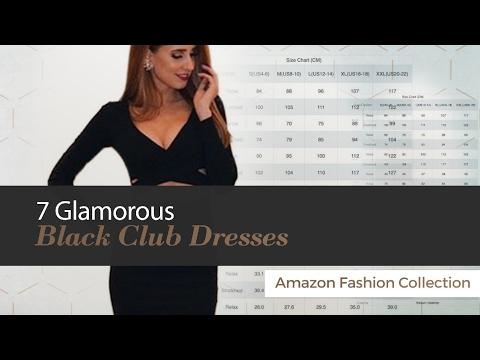 7 Glamorous Black Club Dresses Amazon Fashion Collection