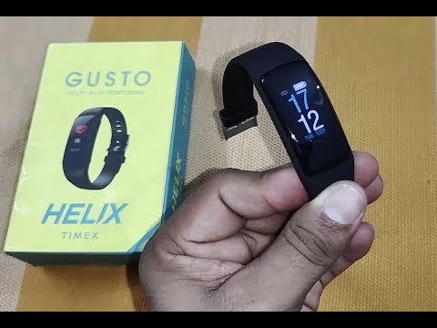 Timex Helix Gusto Smartband Unboxing And Review [Hindi]
