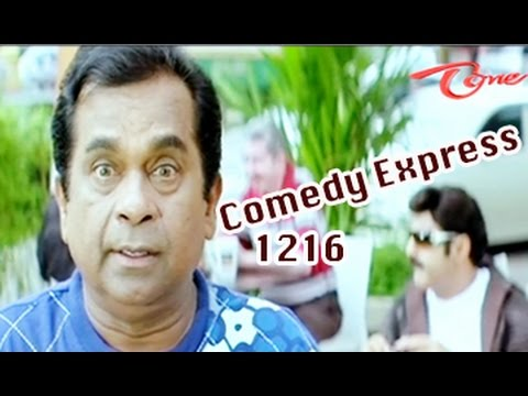 Comedy Express 1216 || Back to Back || Telugu Comedy Scenes