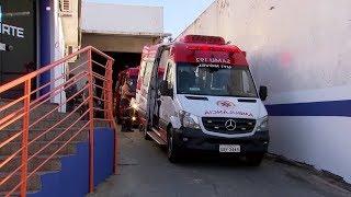 Marília: homem se machuca ao tentar furtar empresa