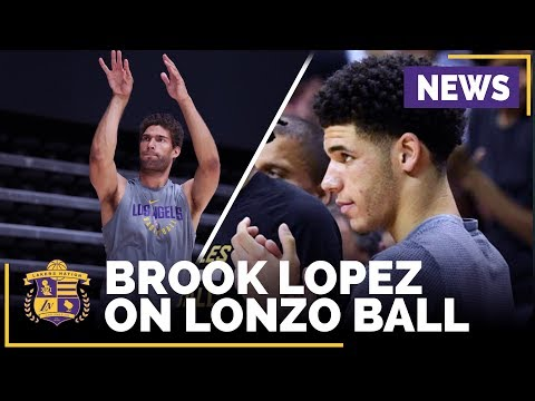 Video: Brook Lopez On Building 'Special Bond' With Lonzo Ball