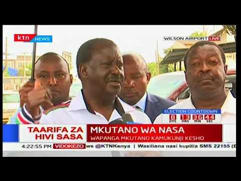 NASA flagbearer Raila Odinga reveals plans for victims slain during anti-IEBC protests_Űrhajó videók