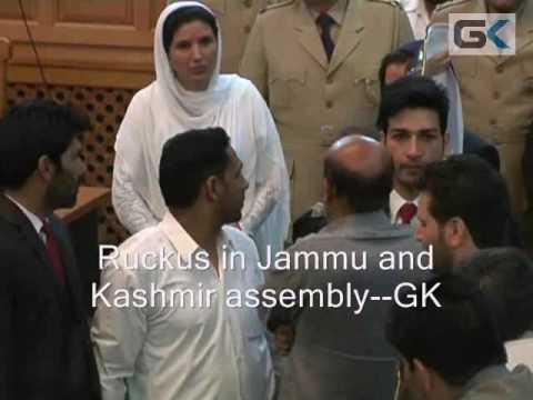 Ruckus In Kashmir Assembly