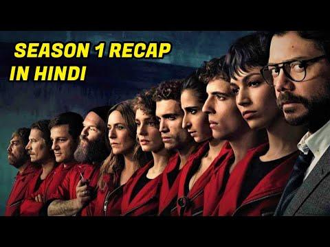 Money Heist Season 1 Recap   Hindi