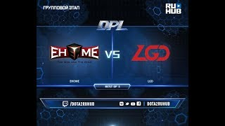 EHOME vs LGD, DPL 2018, game 1 [Mila]
