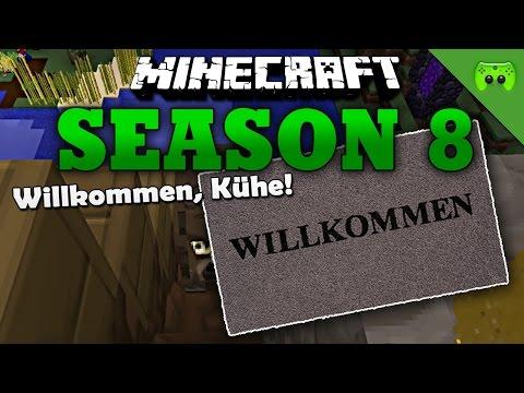 WILLKOMMEN, KÜHE! «» Minecraft Season 8 # 83 | HD