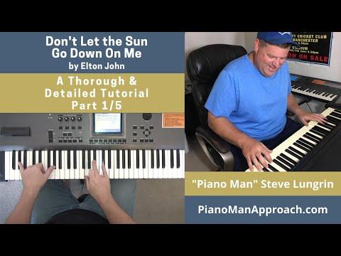 Don't Let the Sun Go Down - Elton John video tutorial preview