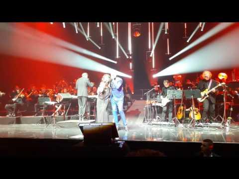 Pascal Obispo et Natasha St Pier, Mourir demain, live palais des sports 27 mai 2016 (видео)