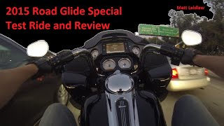 1. 2015 Road Glide Special Harley-Davidson Review and Test Ride