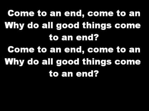 Nelly Furtado All Good Things(Come To An End) Lyrics