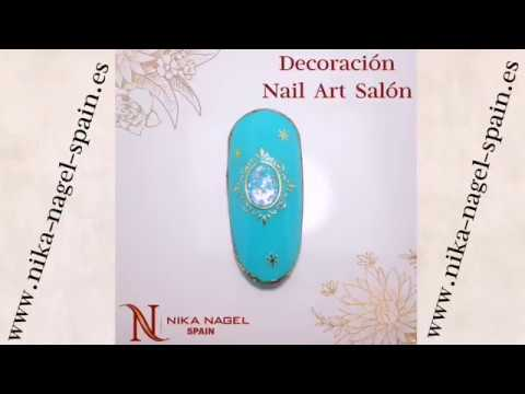 Decoracion de uñas - Decoración para uñas Nail Art Salón / Video Tutorial Nika Nagel Spain